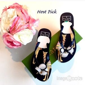 🌷Host Pick🌷! New Kate Spade Camel Flip Flops